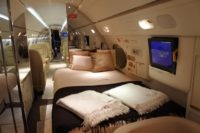 Jet private bed